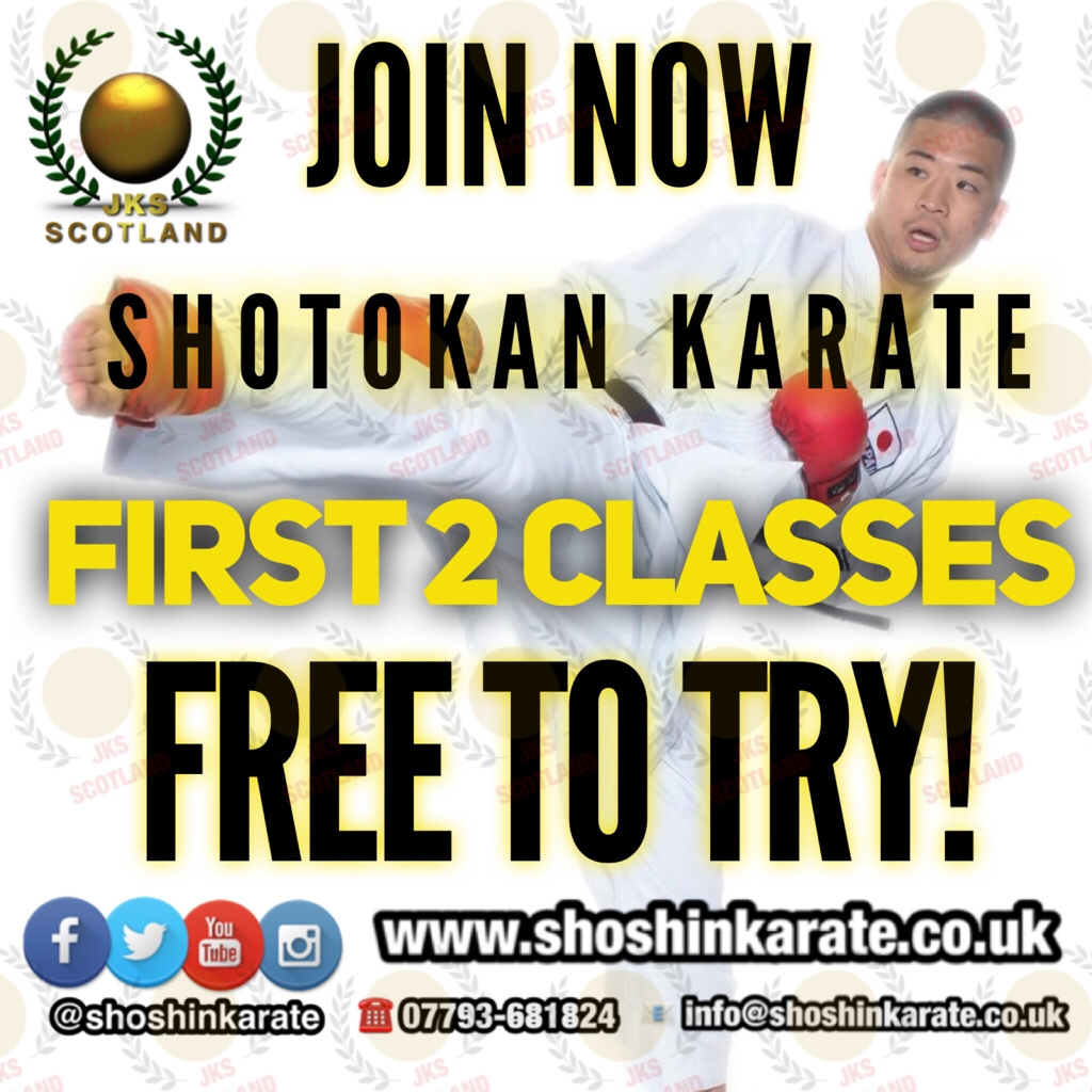 FREE COME & TRY KARATE TASTER SESSION
